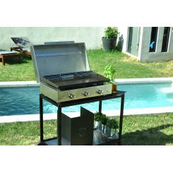 Couvercle de protection pour plancha 3 feux Simplicity ☀ Verycook