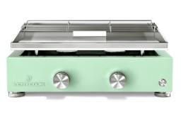 Plancha gaz inox 2 feux plusieurs coloris ☀ Verycook