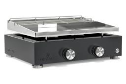 plancha gaz inox 2 feux plusieurs coloris verycook. Black Bedroom Furniture Sets. Home Design Ideas