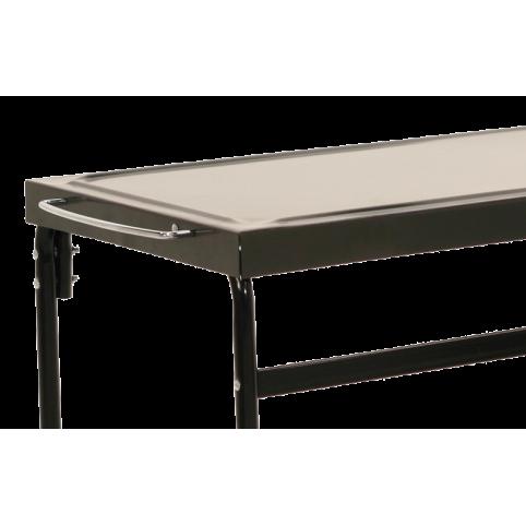 Table en métal pour plancha