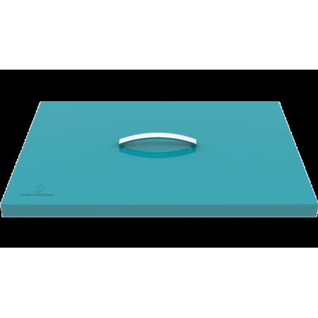 Couvercle de protection pour plancha turquoise 1