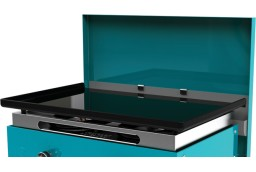 Couvercle de protection pour plancha turquoise 2