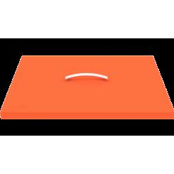 Couvercle de protection pour plancha orange 1