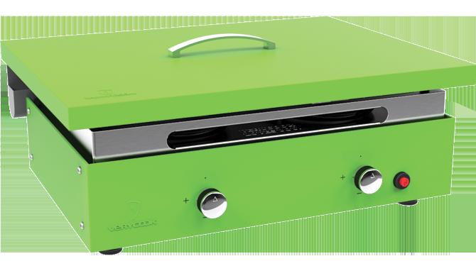 Couvercle de protection pour plancha vert 3