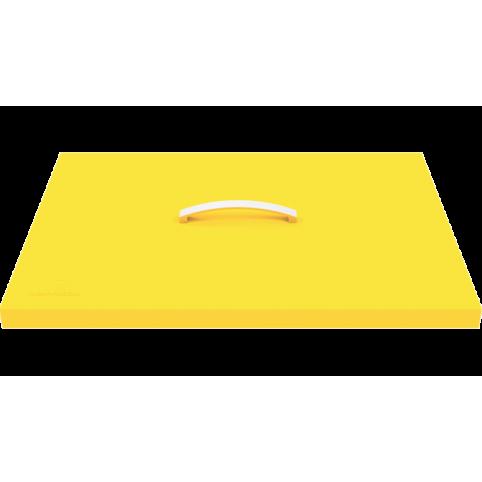 Couvercle de protection pour plancha jaune 1
