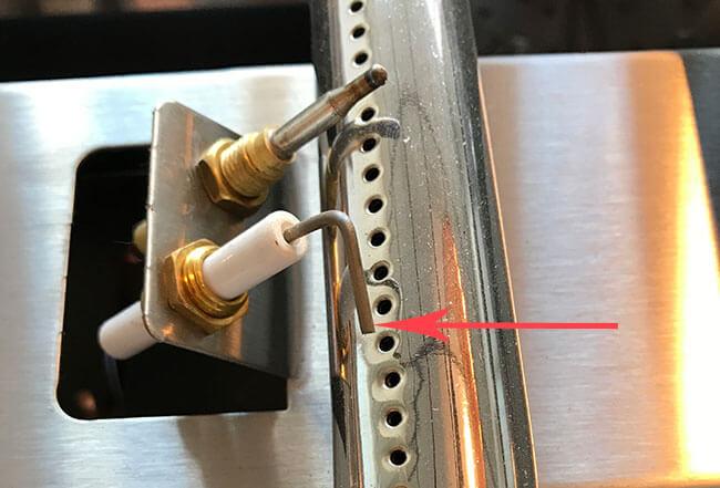 Piezo électronique plancha gaz