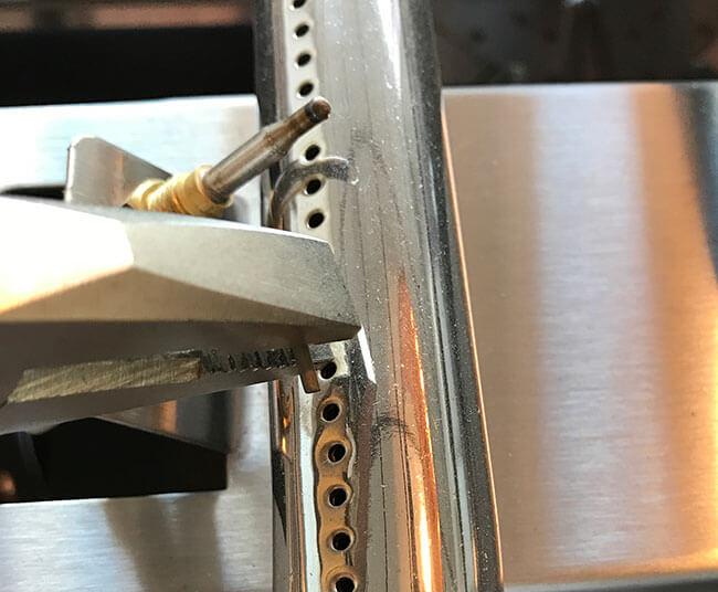 Cable piezzo pour plancha