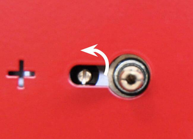 Regler valve plancha au gaz