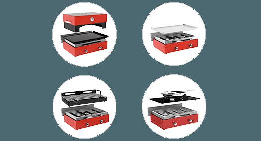 5 combine plancha barbecue