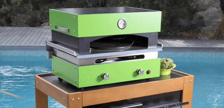 four pizza exterieur plancha verycook