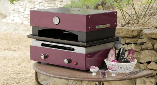 four pizza pour plancha cr ative 2 feux. Black Bedroom Furniture Sets. Home Design Ideas