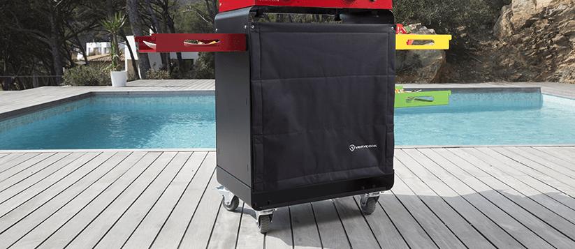 packs plancha gaz ou lectrique avec couvercle et chariot verycook. Black Bedroom Furniture Sets. Home Design Ideas