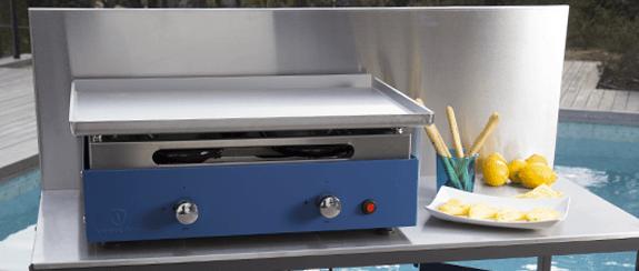 plancha gaz lamine garantie