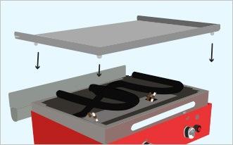 guide premi re utilisation de votre plancha verycook. Black Bedroom Furniture Sets. Home Design Ideas
